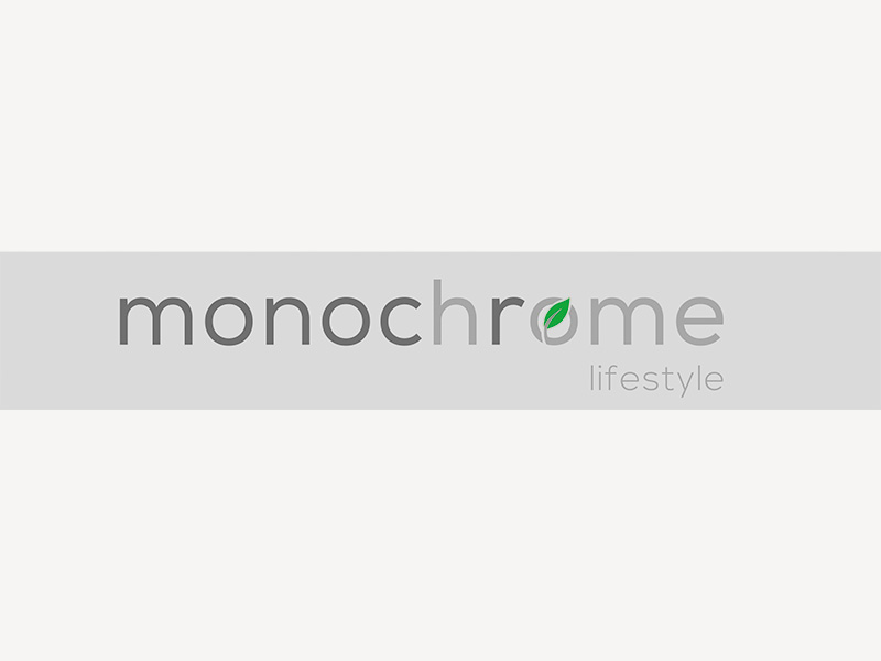 Logo monochrome home